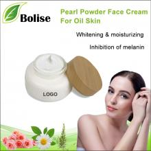 OEM of Pearl Powder Face Cream For Oil Skin
