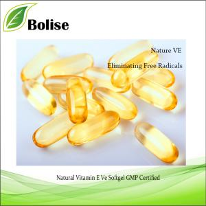 Natural Vitamin E Ve Softgel GMP Sertifikalı