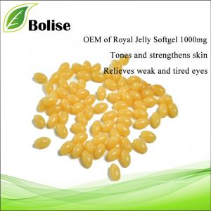 OEM van Royal Jelly Softgel 1000mg