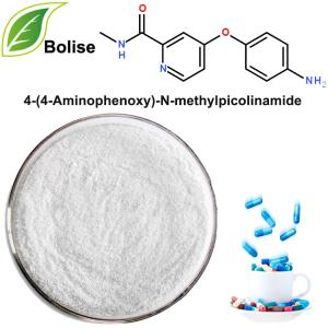 4- (4-aminofenoksi) -N-metyylipikolinamidi