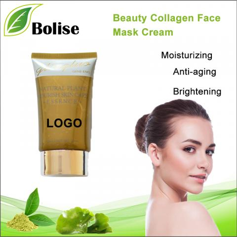 Beauty Collagen Face Mask Cream OEM -kasvovoide
