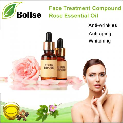 OEM Private Label Face Treatment Compound Rose Essential Oil
